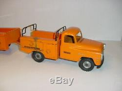 1/16 Vintage Tru Scale Utility Pick-Up & Trailer by Carter! Nice
