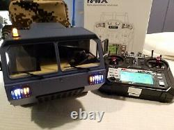 116 Scale RC 6X6 FPV Ltd. Military Truck RTR Modified Fayee FY004-MUST SEE