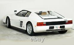 118 KK Scale 1984 FERRARI TESTAROSSA'Sonny Crockett MIAMI VICE (White) #180502