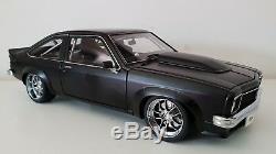 118 Scale AutoArt Holden LX Torana A9X Hatchback Street Machine Satin Black