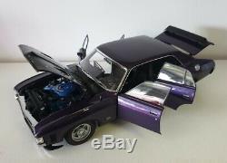 118 Scale Classic Carlectables Ford XA Falcon RPO83 Sedan Wild Violet