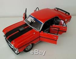 118 Scale Classic Carlectables Ford XY Falcon GTHO Phase 3 Vermillion Fire