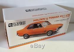 118 Scale Classic Carlectables Holden LJ Torana GTR XU-1 Lone O'Ranger
