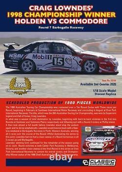 118 scale model car 1998 Holden VS Commodore Lowndes Championship Winner #18705