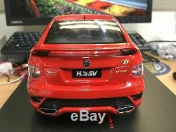 118 scale model car HSV E3 GTS Sting Red FREE POSTAGE #BR18404A