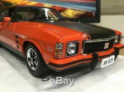 118 scale model car Holden Monaro GTS Mandarin Red FREE POST #18660