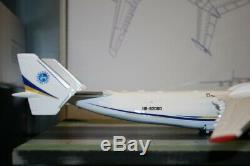 1200 Scale Antonov AN-225 UR-82060 Die-Cast Model Plane