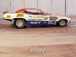 1320 The Floppers Tom McEwen Mongoose Navy 124 Scale Diecast Nitro Funny Car