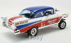 1957 Chevrolet Bel Air Gasser American Express 118 Scale By Acme A1807007