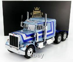 1967 Peterbilt 359 Semi-truck Blue 118 Scale Model By Road Kings Rk180084s