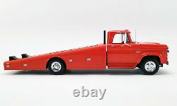 1970 Dodge D-300 Ramp Truck Burnt Orange 118 Scale By Acme A1801900