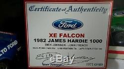 1982 XE Falcon Dick Johnson Tru Blue #17 Biante 1 18 scale as new condition