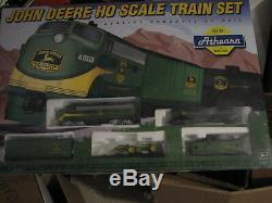 1997 Athearn John Deere Ho Scale (5 Piece)train Set. Mib