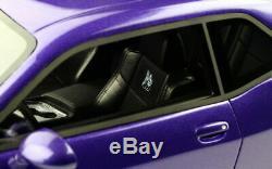2019 Dodge Challenger SRT Scat Pack Side Body GT Spirit 1/18 Scale Resin Toy PUR