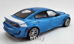 2020 Dodge Charger Srt Hellcat Blue Daytona Anniv Ed 118 Scale Gt Spirit Us031