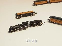 81419 Marklin Z-scale CASEY JONES Illinois Central RR Train set 5 pole motor USA