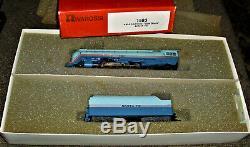 AHM Rivarossi #1583 HO Scale 4-6-4 Santa Fe Blue Goose Hudson Locomotive #3460