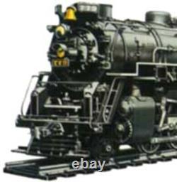 AHM/Rivarossi Berkshire 2-8-4 #2786 (Kanawha) C&O HO Scale Steam Locomotive & Te