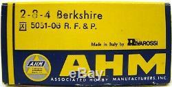 AHM/Rivarossi HO scale Berkshire 2-8 -4 Richmond Fredericksburg & Potomac (RF&P)