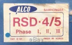 Alco Models Samhongsa Brass HO Scale Alco RSD4 / RSD5 Phase III Unpainted