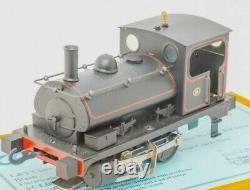 Along Classic Lines, L&Y Class 21 Pug Loco, L & Y black, O Gauge Coarse scale