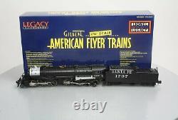 American Flyer 6-48197 S Scale Santa Fe Legacy 2-8-8-2 Steam Locomotive # 1797