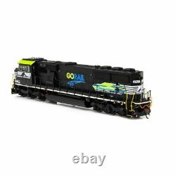 Athearrn ATHG65258 SD60E with DCC & Sound NS GoRail #6963 Locomotive HO Scale