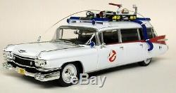 Autoworld 1/18 Scale 1959 Cadillac Ecto-1 Ghostbusters Slimer Diecast Model Car