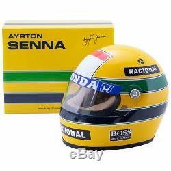 Ayrton Senna 1993 Mclaren Mini Helmet 12 Scale