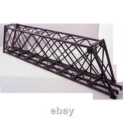BRASS HO American Scale Models 139' Lattice Truss Bridge F/P skewed right