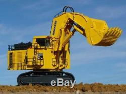 BYMO 25026 Komatsu PC8000-6 Diesel Mining Excavator with Front Shovel Scale 150