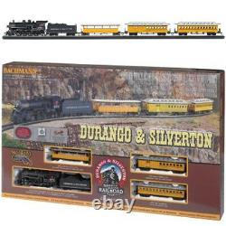 Bachmann 00710 Durango & Silverton Electric Train Set with E-Z Track HO Scale