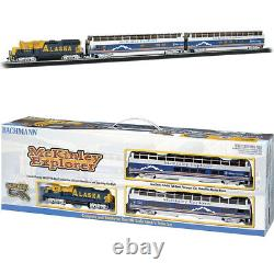 Bachmann 00743 McKinley Explorer Electric Train Set with E-Z Track HO Scale