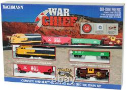 Bachmann 00746 HO Scale War Chief Train Set