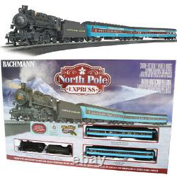 Bachmann 00751 North Pole Express Electric Train Set with E-Z Track HO Scale
