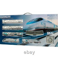 Bachmann 01205 Amtrak Acela Express Electric Train Set with E-Z Track HO Scale