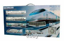 Bachmann #01205 Ho Scale Amtrak Acela Passenger Train Set New In Box DCC