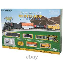 Bachmann 24133 Whistle-Stop Special Train Set with Digital Sound N Scale