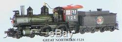 Bachmann Spectrum HO Scale 4-4-0 Steam Locomotive Great Northern DCC + Sound