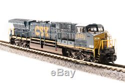 Broadway Limited 3746, N Scale, GE AC6000 CSX #648, Paragon3 Sound/DC/DCC ##