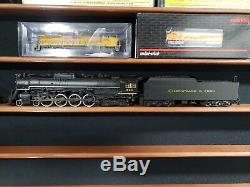 Broadway Limited HO Scale, C&O 4-8-4 J3a Greenbrier #614, BLI-4905 Special