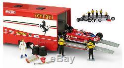 Brumm TS01 Ferrari 126CK Monaco GP 1981 Transporter Set 1/43 Scale