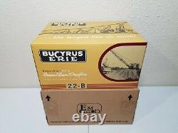 Bucyrus-Erie 22-B Crane, Clam, Dragline Metal Tracks EMD 150 Scale #T003 New