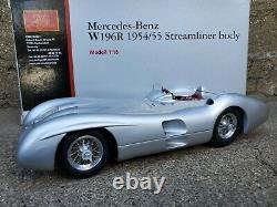CMC 1954 55 Mercedes-Benz W196R Streamliner Body 118 Scale Diecast Car M-044