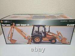 Case 580 Super M Backhoe ERTL Precision 116 Scale Model #14132 New