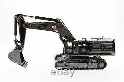 Caterpillar 150 scale Cat 390F L Hydraulic Excavator Gunmetal Finish Diecast