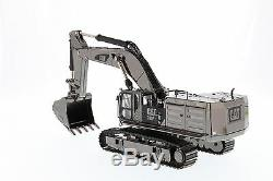 Caterpillar 150 scale Cat 390F L Hydraulic Excavator Gunmetal Finish Diecast