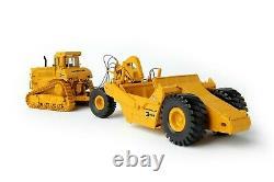 Caterpillar Cat D9L with 631E Towed Scraper CCM 148 Scale Diecast Model New