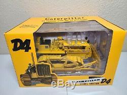 Caterpillar D4 Tractor 4S Bulldozer SpecCast 116 Scale Model #CUST1354 New
