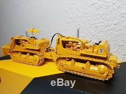 Caterpillar DD9G Dual Push Dozer Set by CCM 148 Scale Diecast Model New